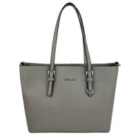 Flora & Co Shoulder Bag Saffiano Grey