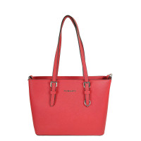 Flora & Co Shoulder Bag Saffiano Small Red