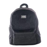 HXTN Supply One Mini Rugzak Faux Fur Black