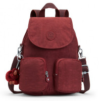 Kipling Firefly Up Backpack Burnt Carmine C