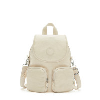 Kipling Firefly Up Backpack Dynamic Ivory