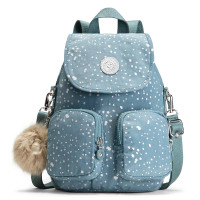 Kipling Firefly Up Backpack Silver Sky