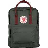 FjallRaven Kanken Rugzak Forest Green/Ox Red