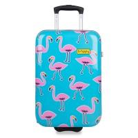 BHPPY Handbagage Koffer 55 Go Flamingo
