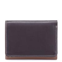 Mywalit Medium Tri-Fold Wallet Portemonnee Mocha
