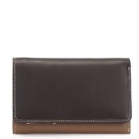 Mywalit Medium Tri-Fold Wallet Outer Zip Portemonnee Mocha