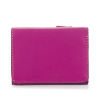 Mywalit Medium Tri-Fold Wallet Portemonnee Sangria Multi