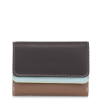 Mywalit Double Flap Purse Portemonnee Mocha