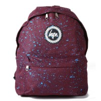 Hype Speckle Rugzak Burgundy/ Blue