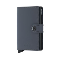 Secrid Mini Wallet Portemonnee Matte Grey Black