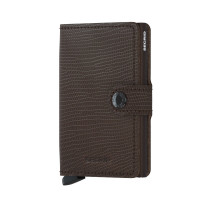 Secrid Mini Wallet Portemonnee Rango Brown Brown