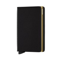 Secrid Slim Wallet Portemonnee Crisple Black Gold
