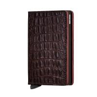 Secrid Slim Wallet Portemonnee Nile Brown