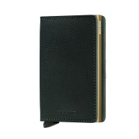 Secrid Slim Wallet Portemonnee Rango Green Gold