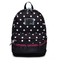 Superdry Montana Repeat Series Backpack Black Polka Dot
