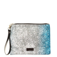 HXTN Supply Clutch Glitter Fade Silver Blue