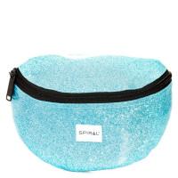 Spiral Harvard Heuptas Glitter Jelly Blue