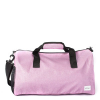 Spiral Duffel Bags Glitter Lilac