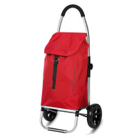 Playmarket Go Two Compact Boodschappentrolley Red