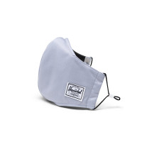 Herschel Classic Fitted Facemask Mondkapje Light Grey
