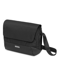 Moleskine Metro Slim Messenger Bag Black