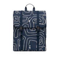 "Lefrik Eco Handy Backpack 15"" Navy Graphic"