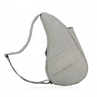 The Healthy Back Bag The Classic Collection Textured Nylon S Frost Grey