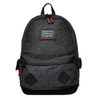 Superdry Montana Herrington Backpack Grey Herringbone