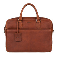 "Burkely Antique Avery Laptopbag 15"" Cognac"