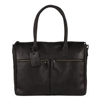 """Burkely Vintage Valerie Laptop Bag 15.6"""" Black"""