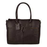 "Burkely Vintage Valerie Laptop Bag 15.6"" Brown"