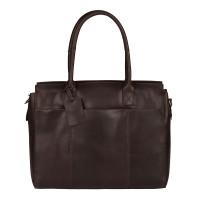 "Burkely Vintage Doris Laptop Bag 15.6"" Schoudertas Brown"