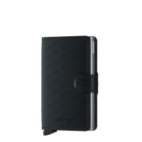 Secrid Mini Wallet Portemonnee Optical Black / Titanium