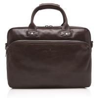 Castelijn & Beerens Firenze Business 3-Vaks Laptoptas 15.6'' Mocca