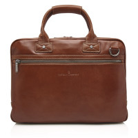 Castelijn & Beerens Firenze Business Laptoptas 15.6'' Licht Bruin