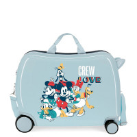 Disney Rolling Suitcase 4 Wheels Mickey Mouse Allways Original