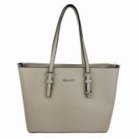 Flora & Co Shoulder Bag Saffiano Beige Cream