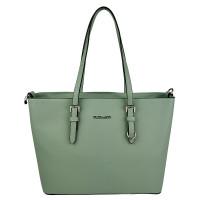 Flora & Co Shoulder Bag Saffiano Light Green