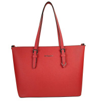 Flora & Co Shoulder Bag Saffiano Red