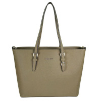 Flora & Co Shoulder Bag Saffiano Light Taupe