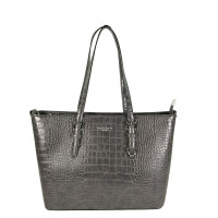 Flora & Co Shoulder Bag Shopper Croco Grey