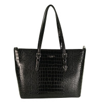 Flora & Co Shoulder Bag Shopper Croco Black