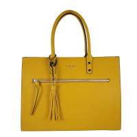 Flora & Co Shoulder Bag Straight Line Yellow
