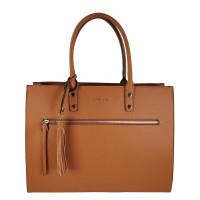 Flora & Co Shoulder Bag Straight Line Camel
