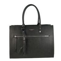 Flora & Co Shoulder Bag Straight Line Black