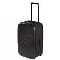 Rollink Flex Earth Opvouwbare Handbagage Koffer 55 Black