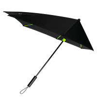 Impliva STORMaxi Stormparaplu Special Edition Black Lime