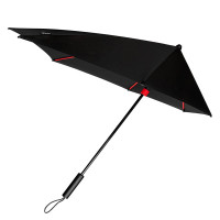Impliva STORMaxi Stormparaplu Special Edition Black Red