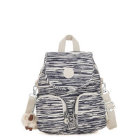 Kipling Firefly Up Backpack Scribble Lines