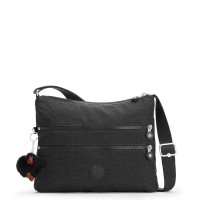 Kipling Alvar Basic Schoudertas True Black